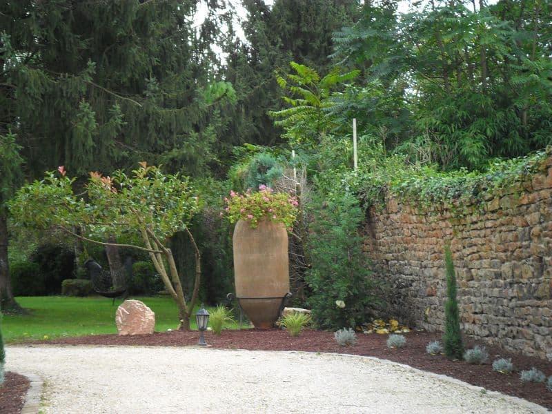 Création espaces vertes Mâcon
