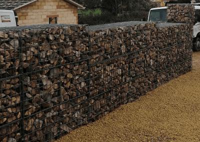 Mur en pierre Mâcon